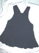Nádherná riflová laclová sukně s puntíkama, zara,86