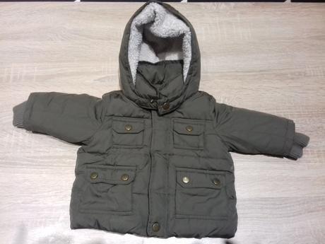 Zimní bunda baby gap, gap,68