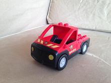 Lego duplo požární auto,