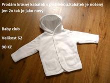 Krásný kabátek, baby club,62
