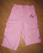 Kalhoty plátěné rolovací, okay,80
