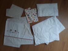 Dětská ložní souprava 5 ks, povlečení deka polštář, 110,130