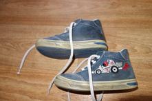 Kožené jarní boty, jonap,22