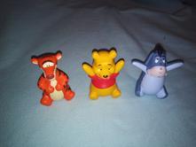 Figurky medvídek pú a jeho kamarádi - 3 ks,