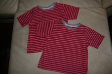 Set triček vel. 110/116, 110