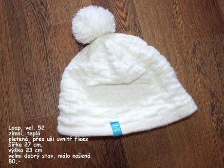Zimní čepice loap, loap,52