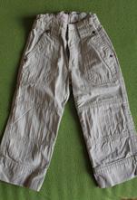 Plátěné kalhoty  h&m  vel. 92, h&m,92