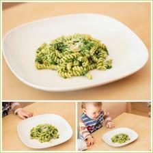 Rychlovka - těstoviny se špenátem