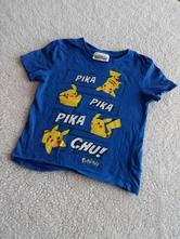 Tričko pikachu vel.110/2166, debenhams,110