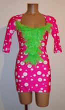 Kostým šaty tanečnice, leg avenue, vel. m., m