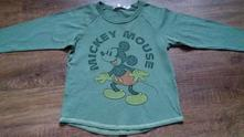 Khaki triko s mickey mousem, disney,116