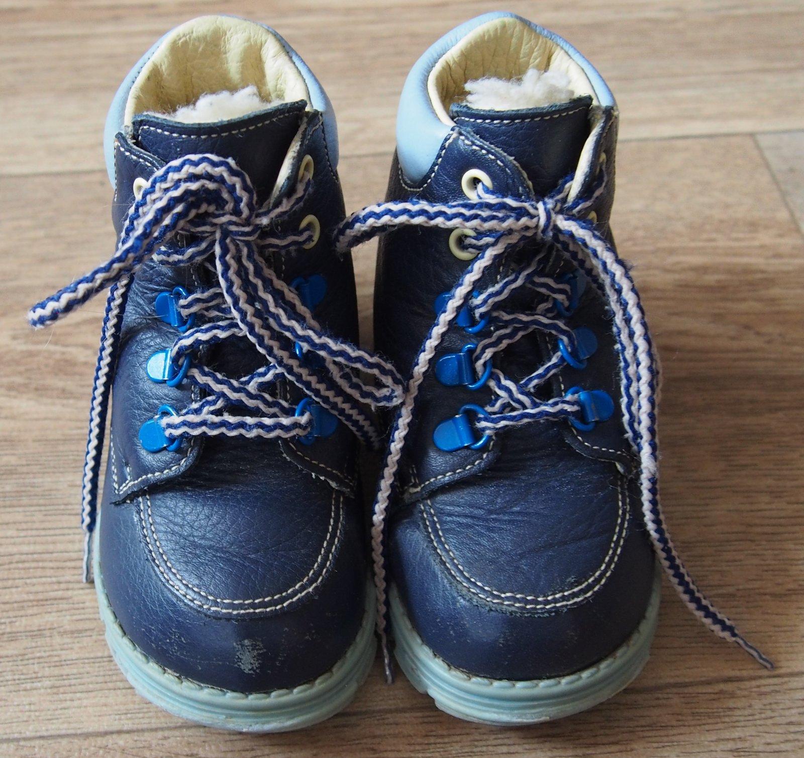 1fec1d81d8c Chlapecké zimní boty vel.21