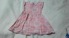 Letní bavlněné šaty, f&f,134