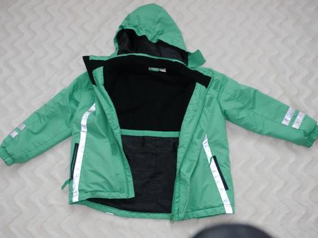 Zelena prosivana bunda, pepperts,122