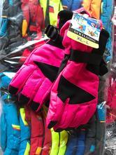 Dětské lyžařské rukavice na kluky i holky 6-12let, 116 - 152