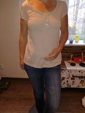 Béžové tričko, terranova,m