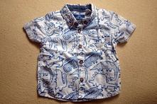 Chlapecká košile s dinosaury, f&f,68