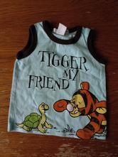 Tričko s tygříkem a želvou, h&m,62