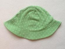 Bavlněný klobouček s puntíky, marks & spencer,62
