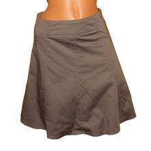 Šedá sukně zero sienna vel.38, 38