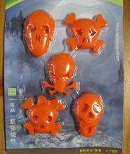 Magnety nejen na ledničku - oranžové,