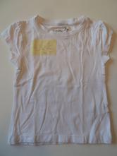 Hladké bílé triko, young dimension,116