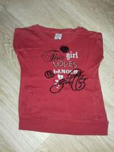 Volnější triko, palomino,98
