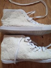 Bílé krajkové tenisky, 39