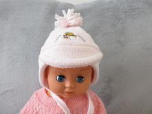 Zimní čepice, richelieu,62