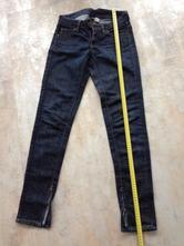 Tmavě modré denim jeans mango inés vel.36 se zipy , mango,36