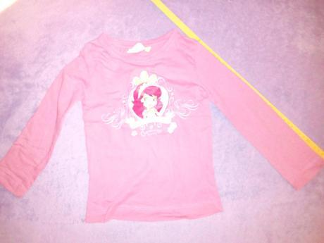 Růžové tričko s jahůdkou, 104