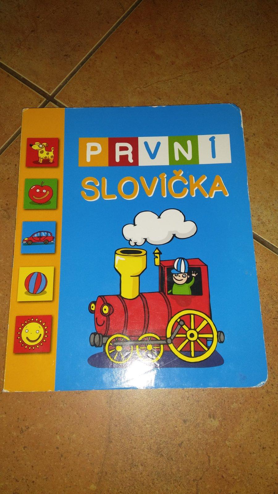 226a424d0 Knížka první slovíčka, - 30 Kč Od prodejkyně martinapa | Dětský bazar |  ModryKonik.cz