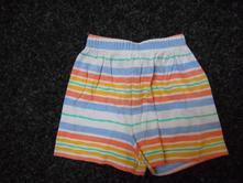 Bavlněné kraťasy, kraťásky, šortky, 68