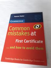 Kniha common mistakes at first certificate,