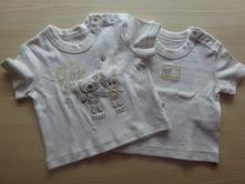 2x tričko s kr.r., vel. 68, f&f,68
