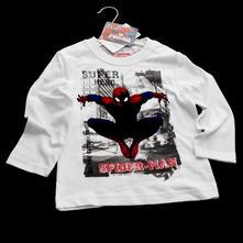 Bavlněné triko spiderman, tri-0084, 92 - 128