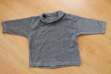 Froté triko s roláčkem, 62
