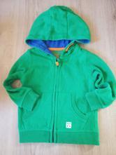 Zelená mikina f&f na zip s kapucí, f&f,98