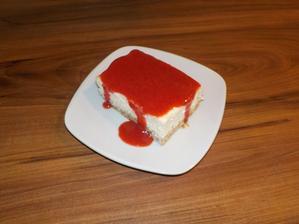 zdravý tvarohový koláč (odokáč :-D, jen proto že bylo potřeba spotřebovat tvaroh) třeba k snídani