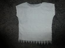 Krajkové tričko, h&m,104