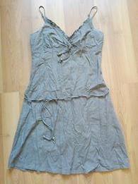 Lněné šaty, takko,40