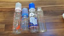 Skleněné lahvičky nuk pro miminka,