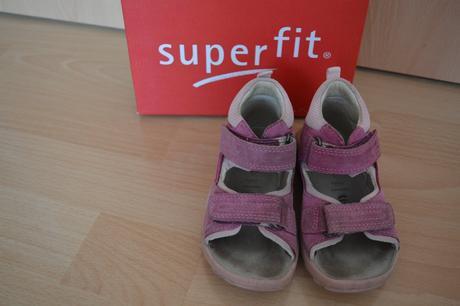 Sandále superfit malinové vel. 24, superfit,24
