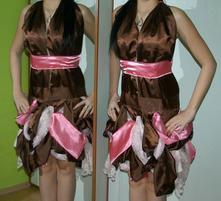 Karnevalové šaty popelka, princezna koloběžka..., xl