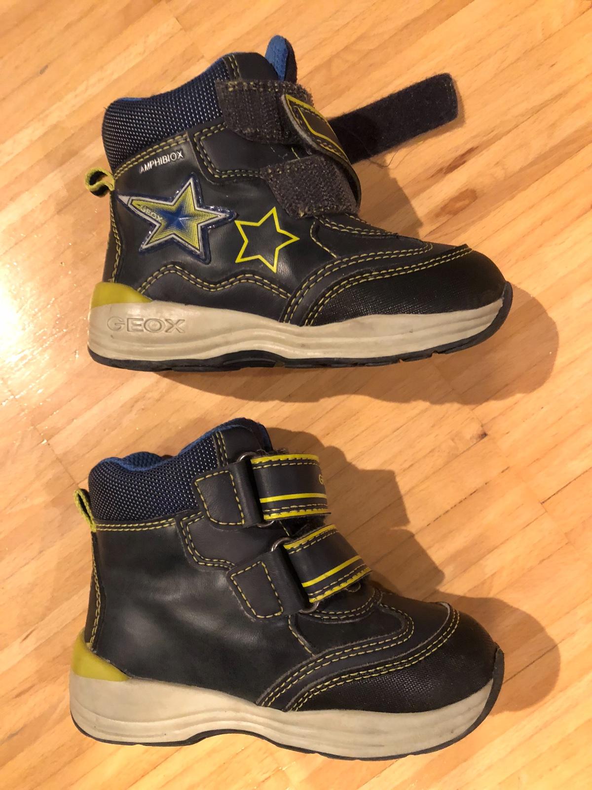 Dětské zimní boty geox svítící ebe69d54b6