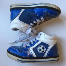 Kotníčkové boty s blikacím míčem, bobbi shoes,25