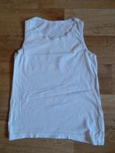 Bílé tílko / košilka , 152