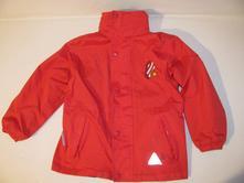 Zn. zimní oboustranná bunda s kapucí, 116