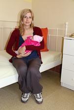 Poslední minutky v porodnici, kde jsme strávily 8 dní