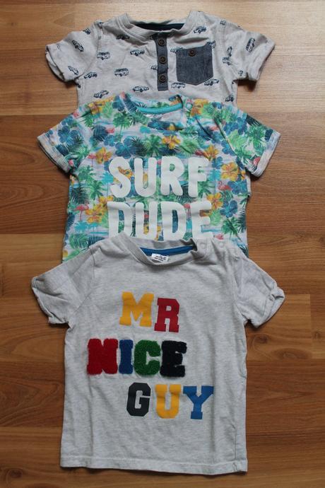 2x chlapecké tričko, f&f,86